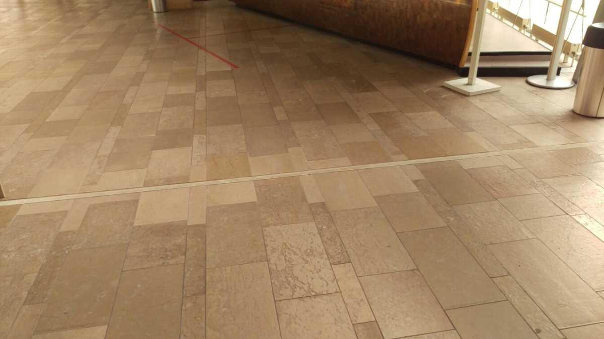 Cenia Ducal – reparatie vloer/vervangen dilatatieprofielen